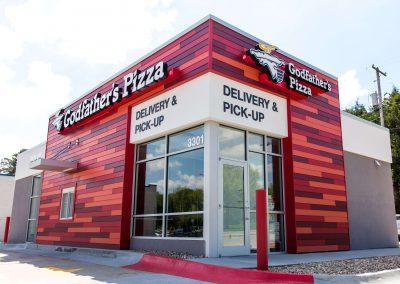 Godfathers Pizza: 33rd & O